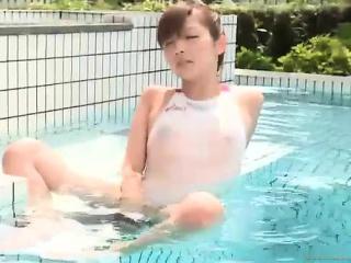 Miyuki in a swimsuit 5