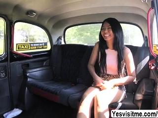 Hot Thai Jureka loves all round ride plus suck Scottish big cock