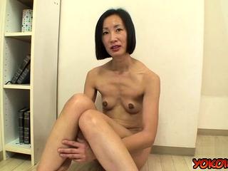 Japan mature casting and cumshot