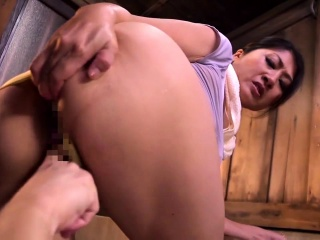 Non-professional Asian MILF Lucky Masturbating Hairy Twat
