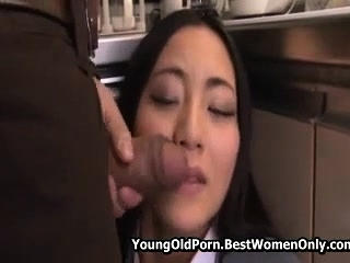 Babe Japanese Asian Fucked By Not Her Begetter