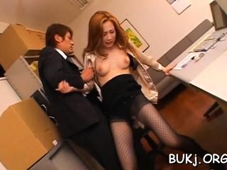 Dicks get jerked by aroused lady ayumu