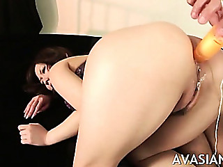 Sexy Oriental Sweetheart Extraordinary Anal Insertion Toys