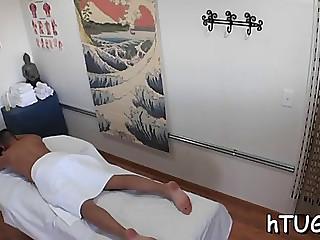 Hottest massage session ever